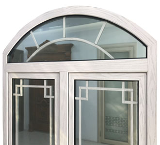 arch top double hung windows